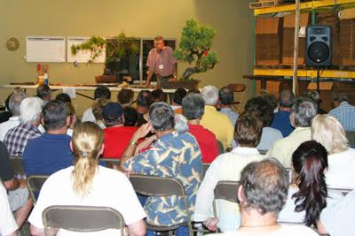 Brussel's Bonsai's annual Rendezvous event is gathering of bonsai masters and enthusiastic students.